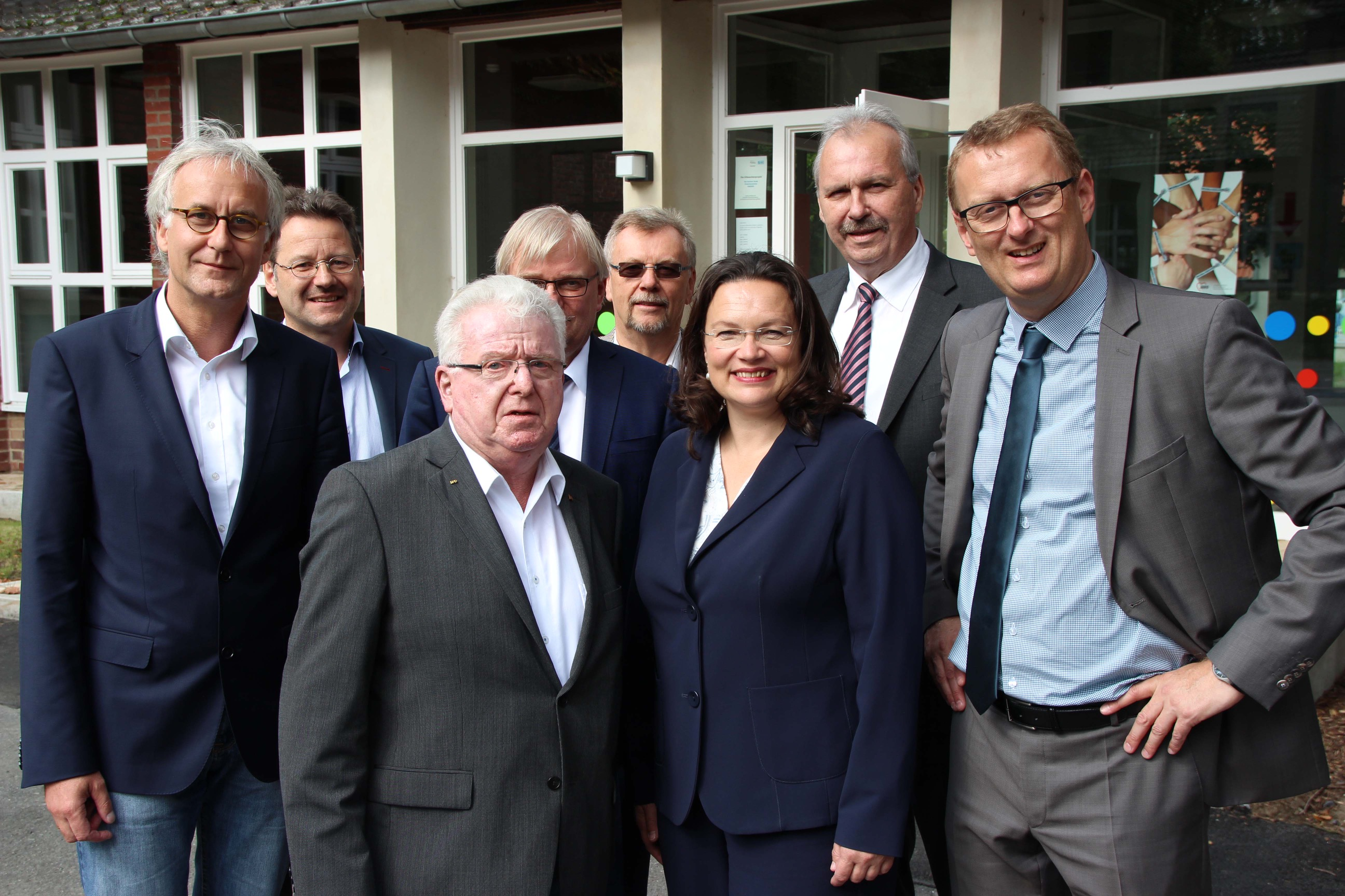 dasdies service gmbh fachgespr ch mit bundesarbeitsministerin andrea nahles. Black Bedroom Furniture Sets. Home Design Ideas