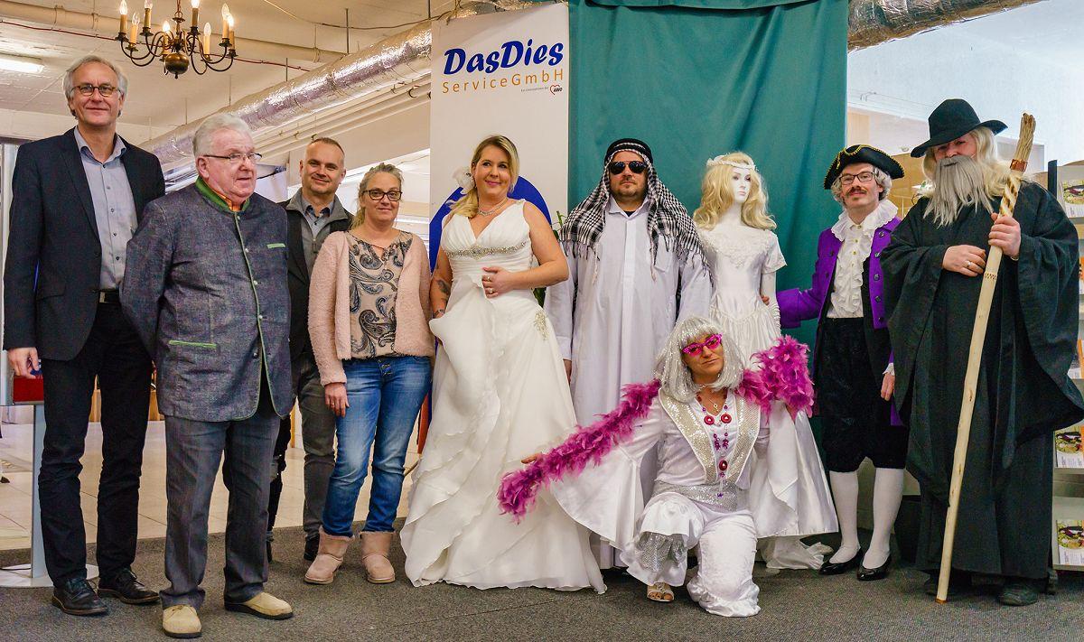 DasDies Service GmbH - Ganz in Weiß - Kostümverleih mal anders